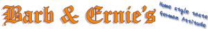 Logo - Barb & Ernies